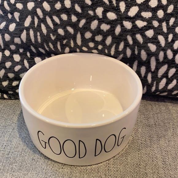 Rae Dunn Good Dog Water/Food Bowl